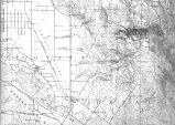 Cotati area historical topographical map