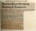 Russian River dredging hearing is tomorrow