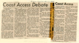 Coast access debate