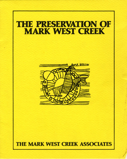 Preservation of Mark West Creek