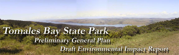 Tomales Bay State Park preliminary general plan: draft environmental impact report