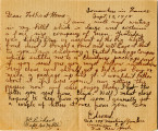 Correspondence, 18 September 1918, from Edward Tanner