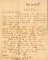 Correspondence, 6 October 1918, from Eliza Ann Tanner