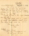 Correspondence, 1 September 1918, from Eliza Ann Tanner