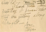 Correspondence, 19 December 1917, from Eliza Ann Tanner