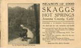 Season of 1909 Skaggs Hot Springs