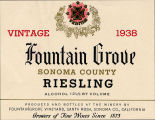 Fountain Grove Sonoma County riesling