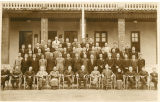 Group portrait of customs employees