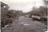 Customs Street view of devastation
