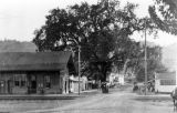 Downtown Geyserville, California