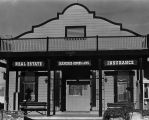 Real estate/insurance office, Cotati, California