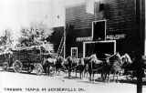 Tanbark teams at Geyserville, California